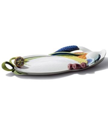 Naturo. -tray (multicolor) Lladro Figurine