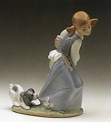 Naughty Dog Lladro Figurine