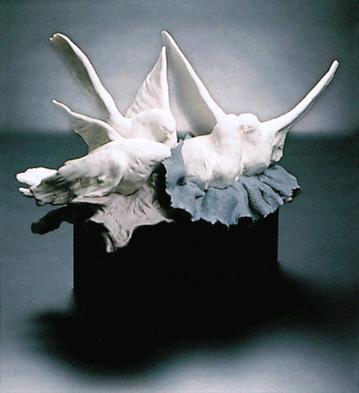 Nesting Doves (l.e.) (b) Lladro Figurine