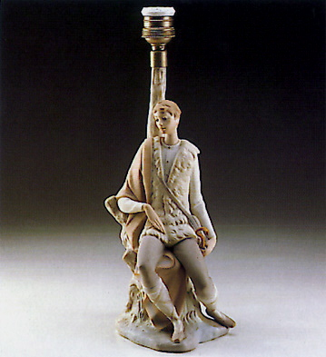 New Shepherd (lamp) Lladro Figurine