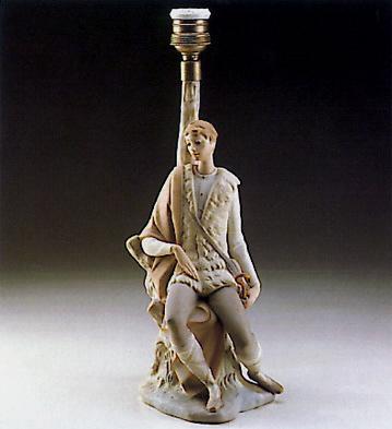 New Shepherd (lamp) Lladro Figurine