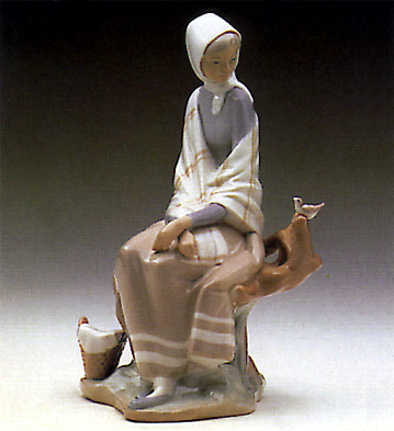 New Shepherdess Lladro Figurine