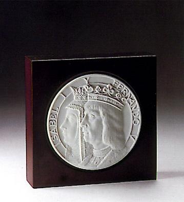 New World Medallion (l.e. Lladro Figurine