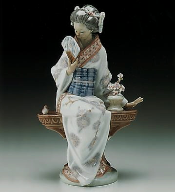 Nippon Lady Lladro Figurine
