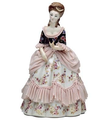 Noble Lady Lladro Figurine