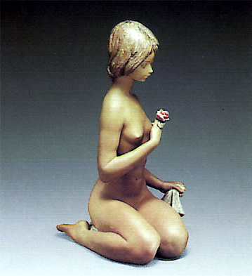 Nude With Rose Lladro Figurine