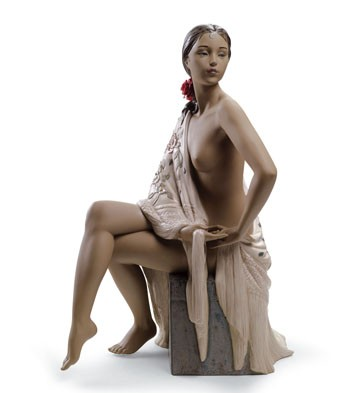 Nude With Shawl Lladro Figurine