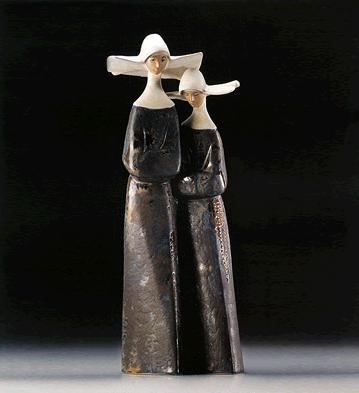 Nuns Lladro Figurine