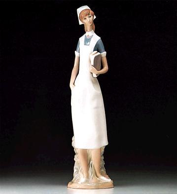 Nurse Lladro Figurine