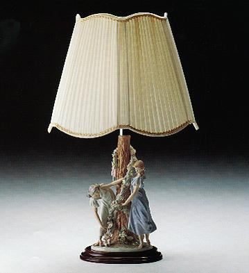 Nymph Lamp (b) Lladro Figurine