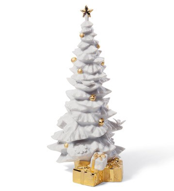 O Christmas Tree (re-deco) Lladro Figurine