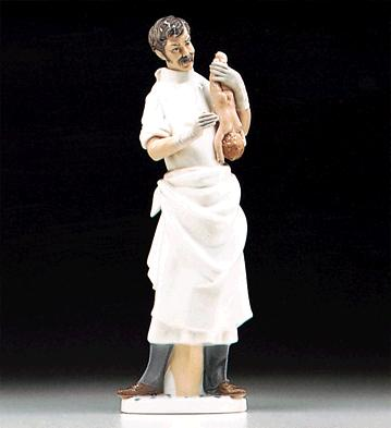 Obstetrician (reduced) Lladro Figurine