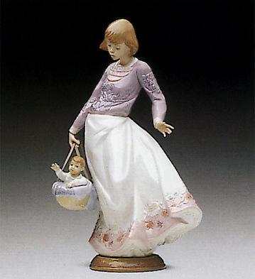 Off We Go Lladro Figurine