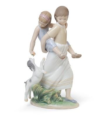 Oh Happy Days Lladro Figurine