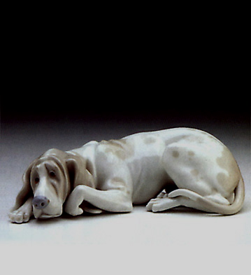 Old Dog Lladro Figurine
