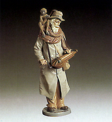 Old Man And Monkey Lladro Figurine