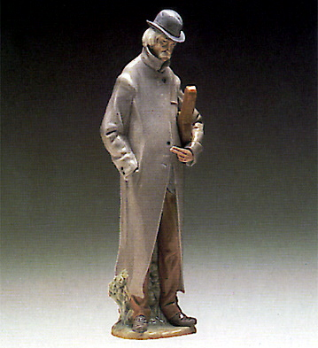 Old Man Lladro Figurine