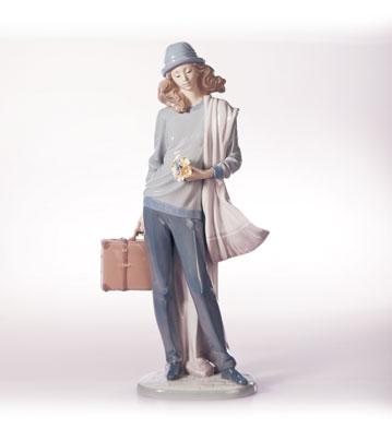 On My Way Home Lladro Figurine