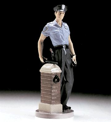 On Patrol Lladro Figurine