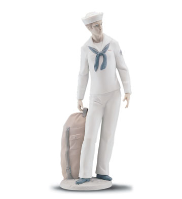 On Shore Leave Lladro Figurine
