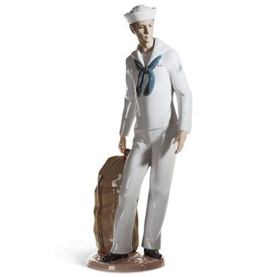On Shore Leave Lladro Figurine
