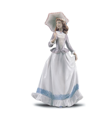 On The Boulevard Lladro Figurine