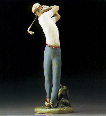 On The Green Lladro Figurine