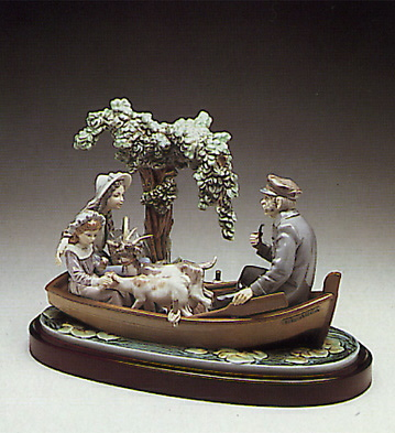 On The Lake (b) Lladro Figurine