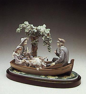 On The Lake (b) Lladro Figurine