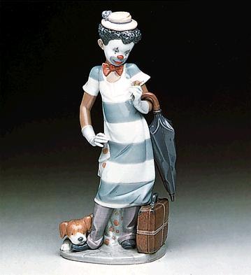 On The Move Lladro Figurine