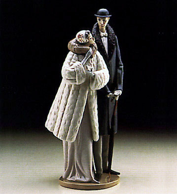 On The Town Lladro Figurine