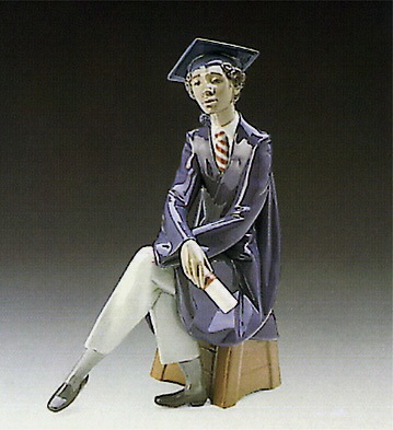 Only The Beginning Lladro Figurine