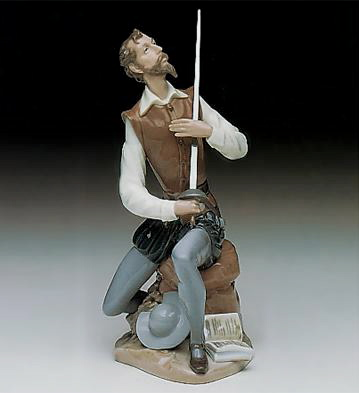 Oration Lladro Figurine