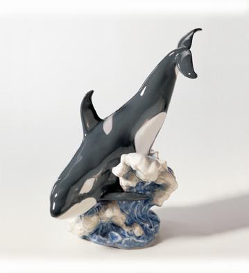 Orca Lladro Figurine
