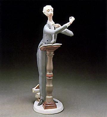 Orchestra Conductor Lladro Figurine