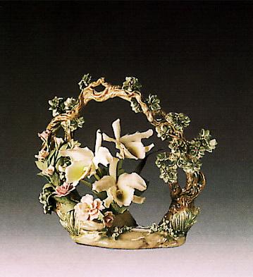 Orchid Arrangement Lladro Figurine