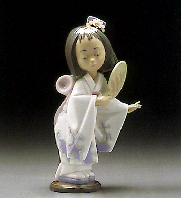 Oriental Beauty Lladro Figurine