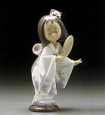 Oriental Beauty Lladro Figurine