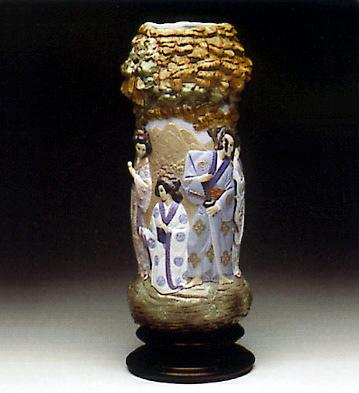 Oriental Colonade(b) Lladro Figurine