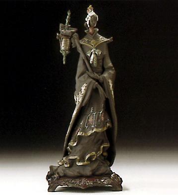 Oriental Fantasy W/brooch Lladro Figurine