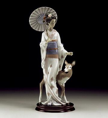 Oriental Forest Lladro Figurine