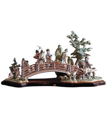 Oriental Garden Lladro Figurine