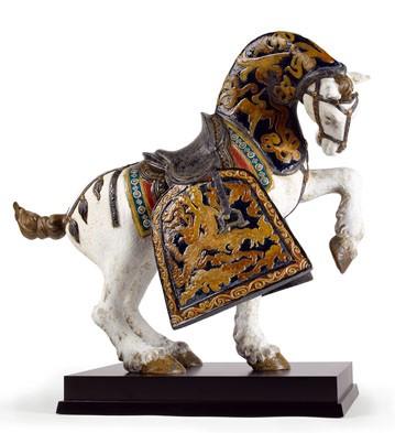 Oriental Horse (matte) Lladro Figurine