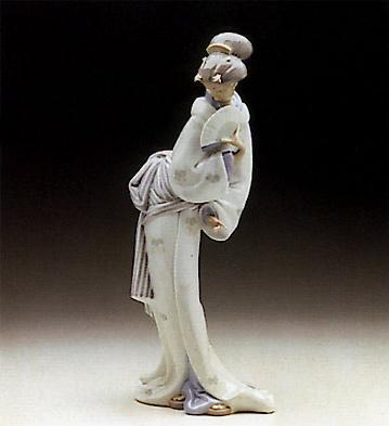 Oriental Lady Lladro Figurine