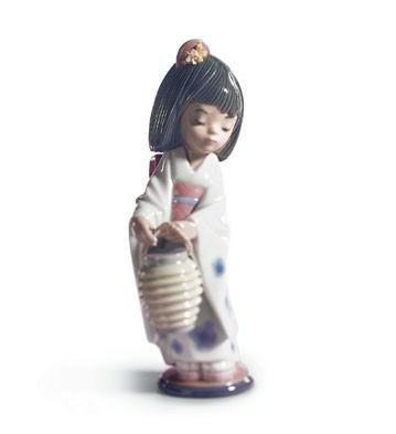 Oriental Lantern Lladro Figurine