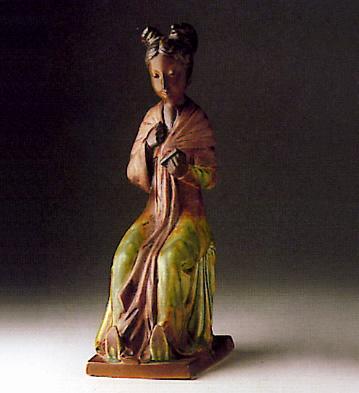 Oriental Woman Lladro Figurine