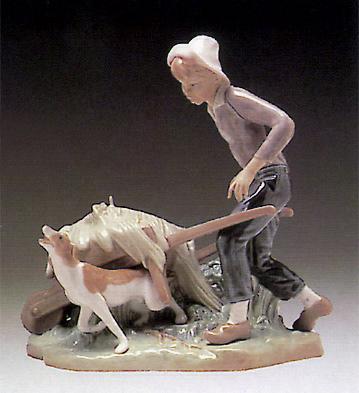 Ortolan In Trouble Lladro Figurine