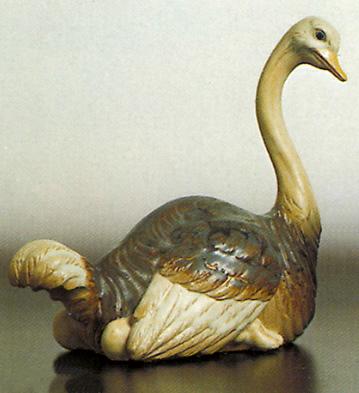 Ostrich Lladro Figurine