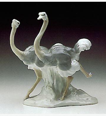 Ostriches Lladro Figurine