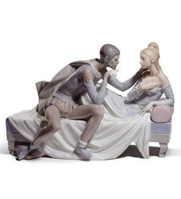 Othello And Desdemona (l. Lladro Figurine